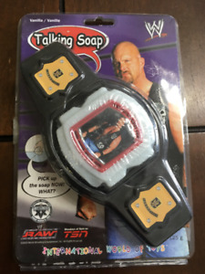 New Old Stock Steve Austin Talking soap