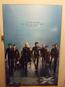 Plak-It Movie Posters Mounted LOTR, X-Men, Signs, Pirates