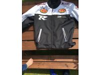 Armoured biker jacket