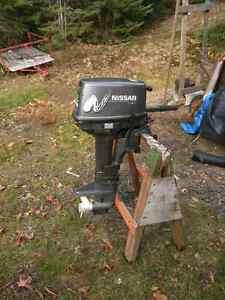 Moteur 10 hp nissan 2002