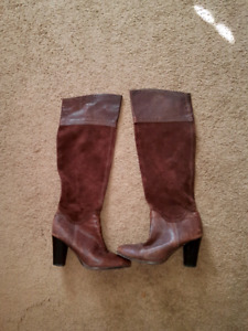 Genuine leather boots from Spain