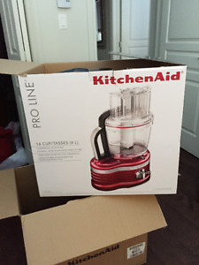 KitchenAid - Pro Line 16-Cup Candy Apple Red Food Processor NEUF