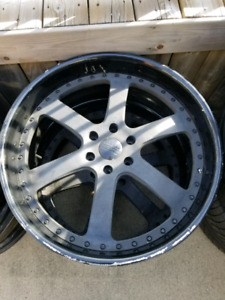 """24"""" ze forged 3 piece rims"""
