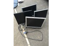 LCD Computer Monitor £10 each or £30 for all 4