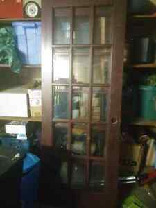 3 french doors. 80 each or 200 for the 3 (obo)