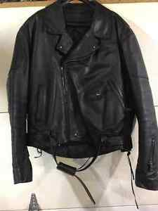 Old school leather jacket REDUCED