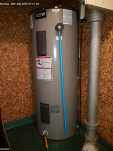 $150 - Electric Hot Water Tank - 75 US Gallons