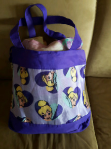 TINKERBELLE TOTE/SLEEPING BAG