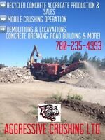 Recycled Concrete Aggregate for sale in Edmonton