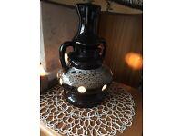 Vintage retro ceramic lava lamp