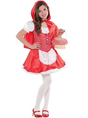 Child Lil Little Red Riding Hood Costume Girls Halloween Fancy Dress Book - Halloween Little Red Riding Hood Kids