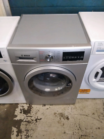 SILVER BOSCH 8KG SERIES 6 WASHER DRYER COMBO 2 IN 1