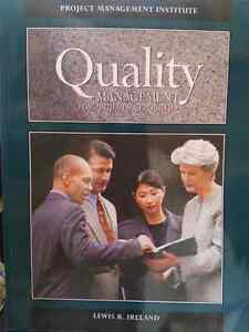 PMI - Quality Management for Projects and Programs