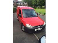 Vauxhall combo ex post man van