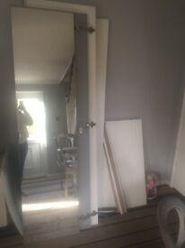 Ikea double mirror wardrobe