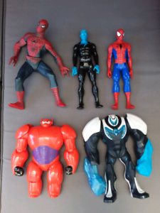 30cm super hero figures