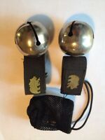 Bear Bells/Christmas bells (sold as pair)