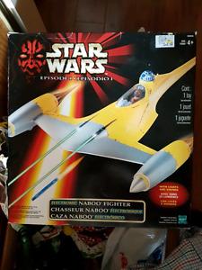 Star Wars Naboo Fighter - Brand New