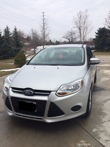 PERFECT CONDITION LOW KILOMETERS 2013 Ford Focus Sedan!!