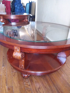Coffee table and 1 matching end table