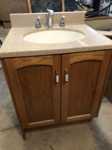 Bathroom Vanity with sink - With Medicine Cabinet