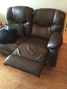 Sofa 2 places et 1 place inclinables