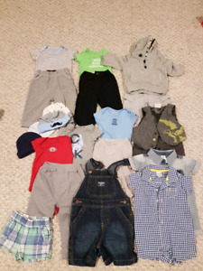 Lot of baby clothes 0-6 months