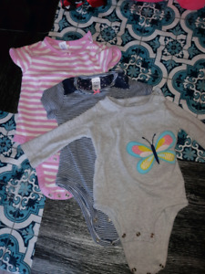 Baby girl clothes lot size 3-6 month