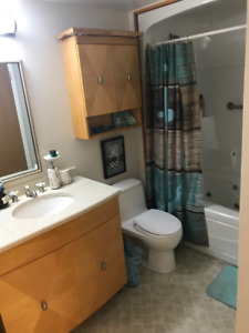 Room for rent in 2 bedroom condo-female only