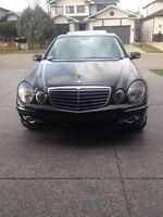 Mercedes E550 4matic, only 83,000 km!!