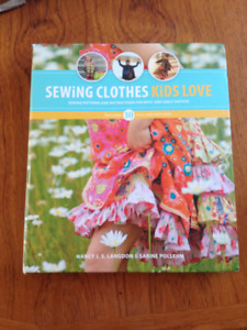 Sewing Clothes Kids Love pattern book-New