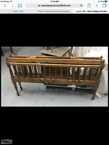 Antique Folding Crib
