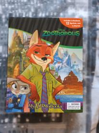 Zootropolis Busy Book