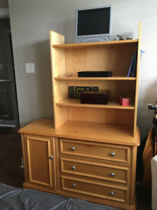 Solid Wood dresser and wardrobe