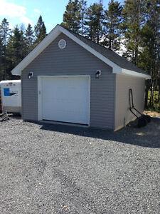 Garages and sheds