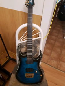 Ibanez iron label guitar