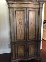 "Armoire made by hooker ""best offer"""