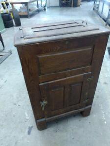 Antique - Oak Icebox