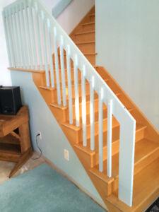 Rampes et mains courante d'escalier