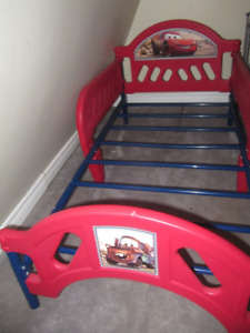 children CARS theme bed