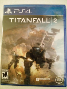 Titan Fall 2 Sealed New Unopened (PS4)