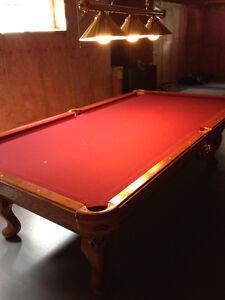 Olhausen Accu-Fast Cushion Pool Table - Mint Condition