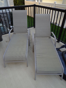 2 Deck or Patio Recliners
