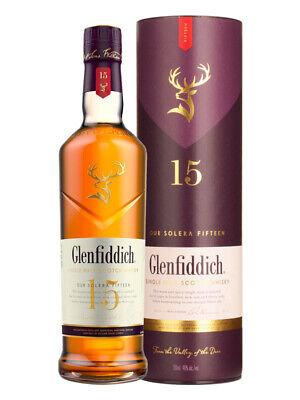 Glenfiddich 15YO Solera Reserve Speyside Scotch Whisky 700ml(Boxed)
