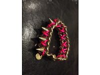 Pinko Bracelet Gold n Metal RRP £85