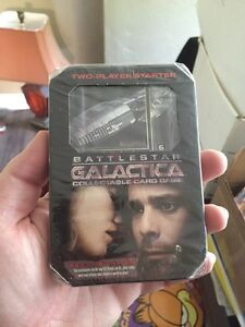 Battlestar Galactica Collectable Card Game Starter Pack