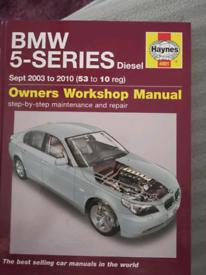 BMW 5 SERIES DIESEL HAYNES MANUAL
