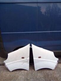 Two renault traffic wings