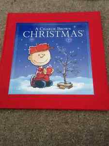 A Charlie Brown Christmas hardcover book