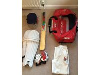 Junior cricket kit